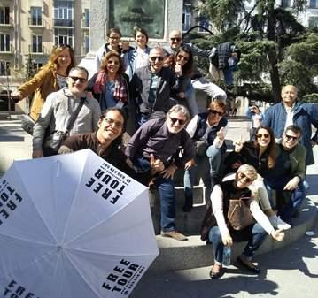 FREE TOUR: BARRIO DE LAS LETRAS