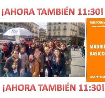 FREE TOUR: MADRID BASICO **11:30**