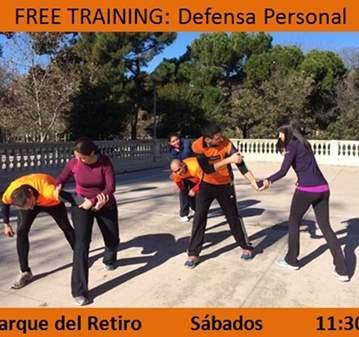 FREE TRAINING: DEFENSA PERSONAL