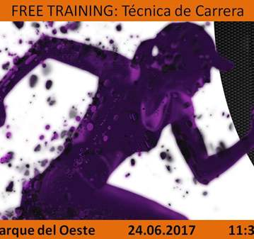 ENTRENAMIENTO: FREE TRAINING: TÉCNICA DE CARRER...