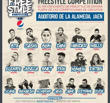 CONCIERTO: FREESTYLE COMPETITION -BATALLA DE LO...