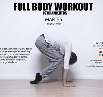 CLASE: FULL BODY WORKOUT
