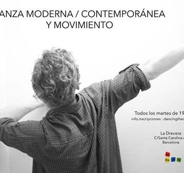 CLASE: DANZA MODERNA / CONTEMPORÁNEA Y MOVIMIENTO