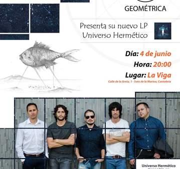 CONCIERTO: GEOMÉTRICA PRESENTA UNIVERSO HERMÉTICO