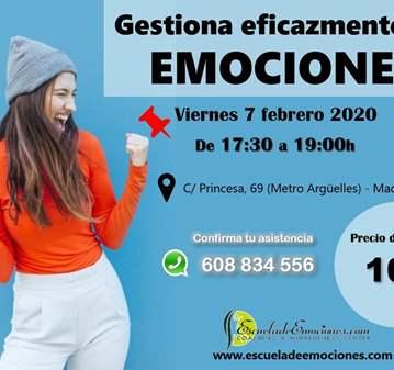 CHARLA: GESTIONA EFICAZMENTE TUS EMOCIONES - PR...