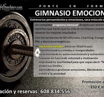 CURSO: GIMNASIO EMOCIONAL. - PREVIA CITA