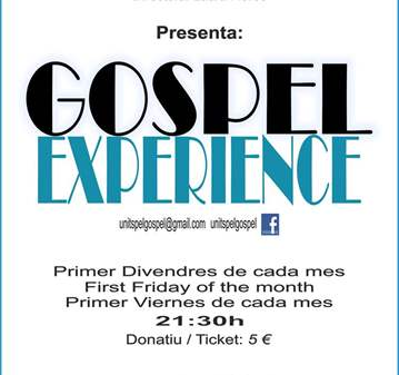 CONCIERTO: GOSPEL EXPERIENCE BY UNITS PEL GOSPEL