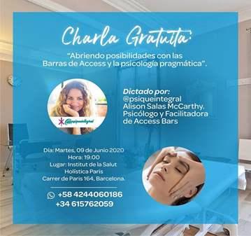 CHARLA: GRATUITA BARRAS DE ACCESS Y PSICOLGÍA P...