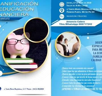 TALLER: GRATUITA EDUCACIÓN FINANCIERA