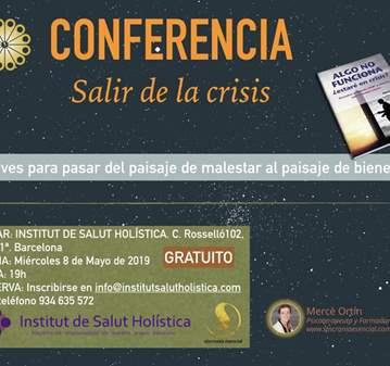 CONFERENCIA: GRATUITA SALIR DE LA CRISIS