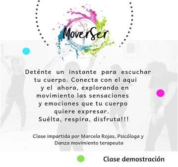 CLASE: GRUATUITA DE DANZA MOVIMIENTO TERAPIA