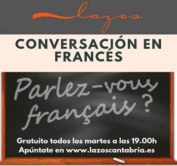 CHARLA: GRUPO DE CONVERSACIÓN EN FRANCÉS