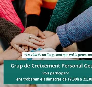 REUNIÓN: GRUPO DE CRECIMIENTO PERSONAL GESTALT
