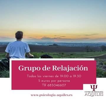 CLASE: GRUPO DE RELAJACIÓN
