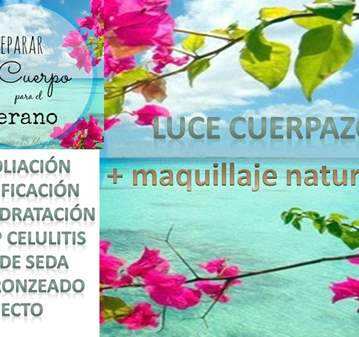 EVENTO: LUCE CUERPAZO+ MAQUILLAJE NATURAL