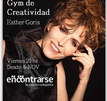 CLASE: GYM DE CREATIVIDAD - ESTHER GORIS