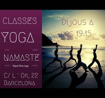 CLASE: HATHA YOGA