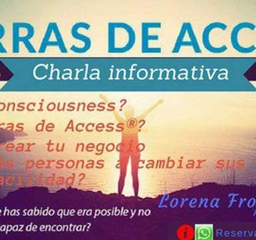 CHARLA: LAS BARRAS DE ACCESS