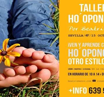 TALLER: HO'OPONOPONO OTRO ESTILO DE VIDA
