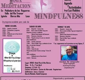TALLER: I RETIRO DE YOGA Y MEDITACION  MINDFULNESS