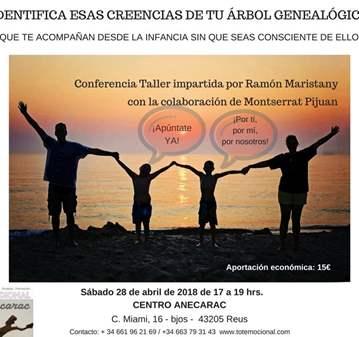 CONFERENCIA: IDENTIFICA LAS CREENCIAS DE TU ÁRB...