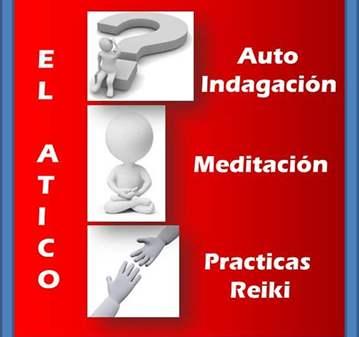 AUTO-INDAGACIÓN, MEDITACIÓN, COMPARTIENDO REIKI