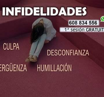 SESIÓN: INFIDELIDADES (CITA PREVIA)