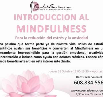 INICIACIÓN A MINDFULNESS - RESERVA TU PLAZA YA