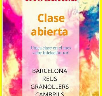 CLASES ABIERTAS DE BIODANZA
