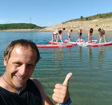 INICIACIÓN AL PADDLE SURF EN EL EMBALSE DEL ATAZAR