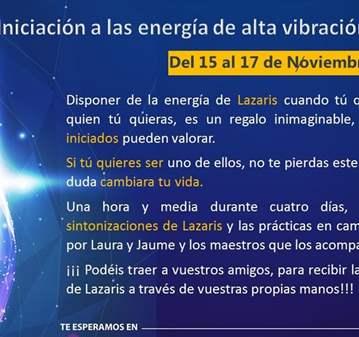 EVENTO: INICIACIÓN: ENERGÍA DE ALTA VIBRACIÓN D...