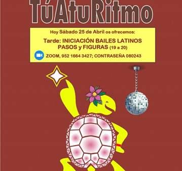 CLASE: INICIACIÓN RITMOS LATINOS, PASOS Y FIGURAS