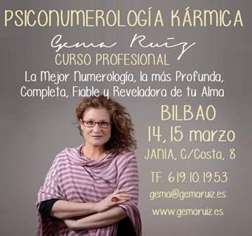 CURSO: INTENSIVO PSICONUMEROLOGIA KÁRMICA BILBAO