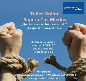 CURSO: TALLER ONLINE SUPERA TUS MIEDOS