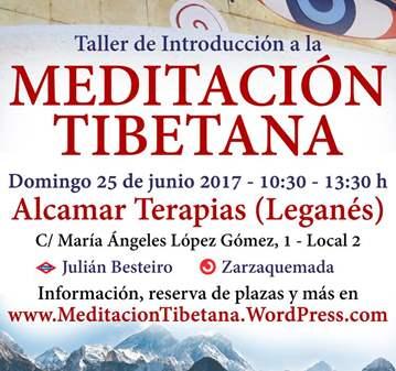 TALLER: INTRODUCCIÓN A LA MEDITACIÓN TIBETANA