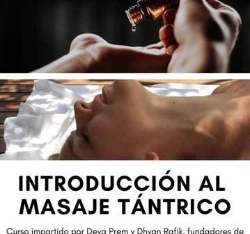 CURSO: INTRODUCCIÓN AL MASAJE TÁNTRICO