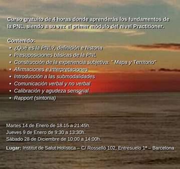 CURSO: INTRODUCTORIO DE PNL -  GRATUITO
