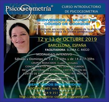 CURSO: INTRODUCTORIO DE PSICOGEOMETRIA