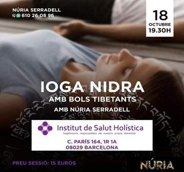 TALLER: IOGRA NIDRA