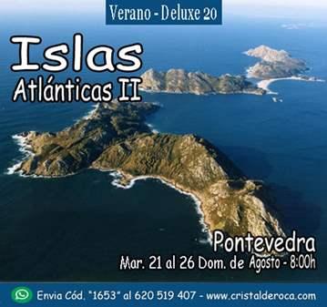 EXCURSIÓN: ISLAS ATLANTICAS II (ISLAS CIES – IS...