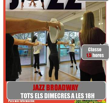 CURSO: JAZZ BROADWAY PARA ADULTOS