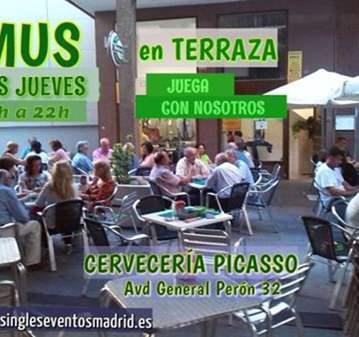 QUEDADA: JUEGA AL MUS 18-22H  EN TERRAZA (AZCA