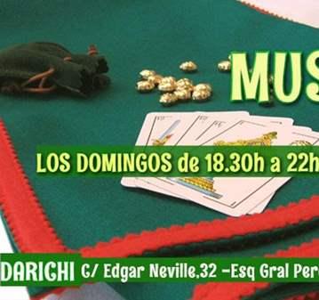 QUEDADA: MUS LOS DOMINGOS 18.30H -22H (+45AÑOS