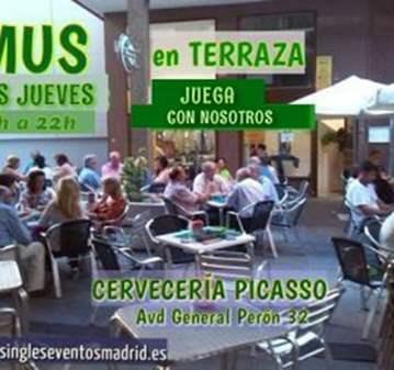 QUEDADA: JUEGA AL MUS 18-22H  EN TERRAZA AZCA O...