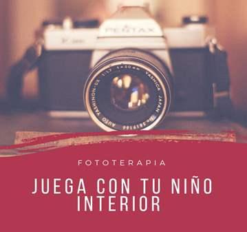 TALLER: JUEGA CON TU NIÑO INTERIOR Y LA FOTOTER...