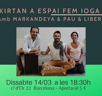 CONCIERTO: KIRTAN EN ESPAI FEM IOGA