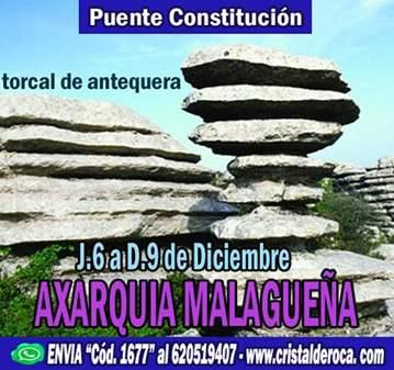 VIAJE: LA AXARQUIA MALAGUEÑA - PUENTE CONSTITUCIÓN