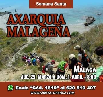 VIAJE: LA AXARQUIA MALAGUEÑA - SEMANA SANTA