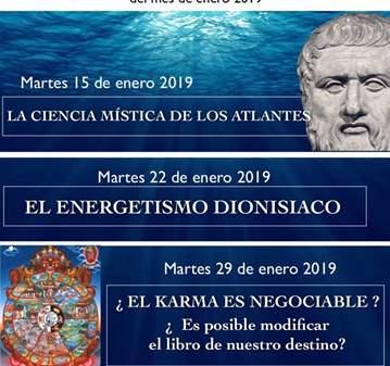 CONFERENCIA: LA CIENCIA MÍSTICA DE LOS ATLANTES