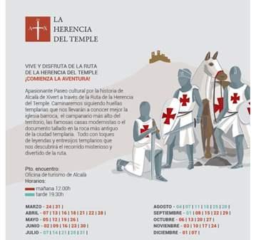 VISITA GUIADA: LA HERENCIA DEL TEMPLE